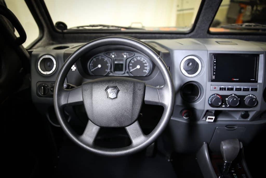 Рулевое управление вездехода Север Профи