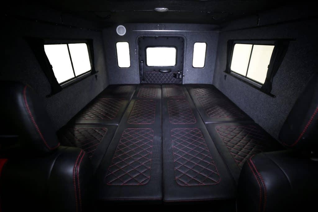 Багажный отсек салона вездеходов Север 3380 Профи